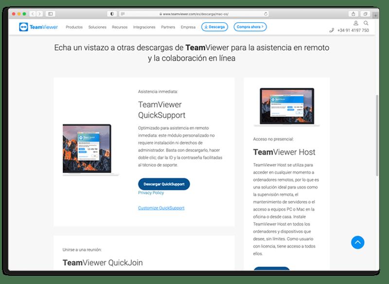 sirmac asistencia y mantenimiento teamviewer 1